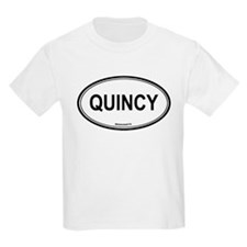 Quincy (Massachusetts) Kids T-Shirt