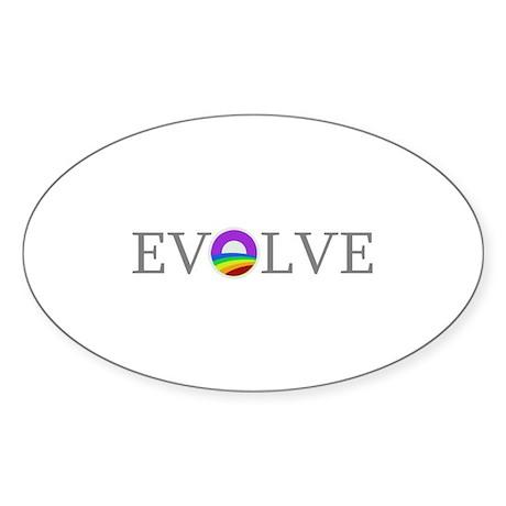 Evolve 2012 Sticker (Oval)
