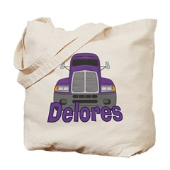 Trucker Delores Tote Bag