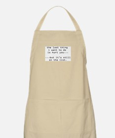 hurt you Apron