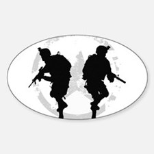 soldiers 22 iraq Decal