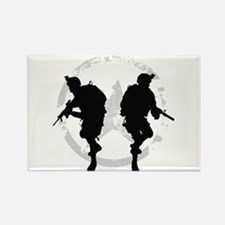 soldiers 22 iraq Rectangle Magnet