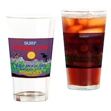 Half Moon Bay Mavericks Drinking Glass