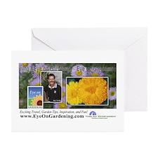 Eye on Gardening Host Logo Greeting Cards (Package