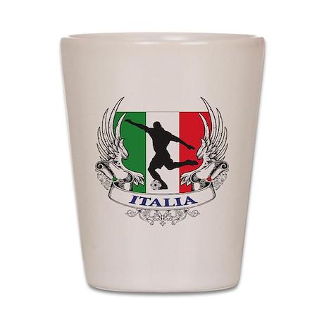 Italian World Cup Soccer Shot Glass
