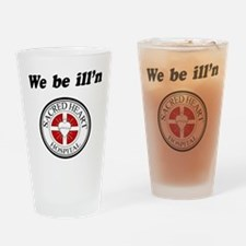 Sacred Heart Illn Drinking Glass