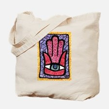 Hamsa Points Tote Bag