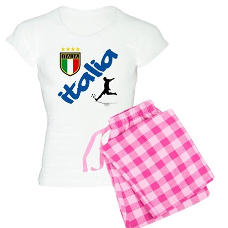 Italian World Cup Soccer Women's Light Pajamas