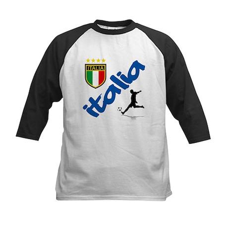 Italian World Cup Soccer Kids Baseball Jersey