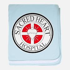 Sacred Heart Hospital baby blanket