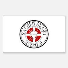 Sacred Heart Hospital Sticker (Rectangle)