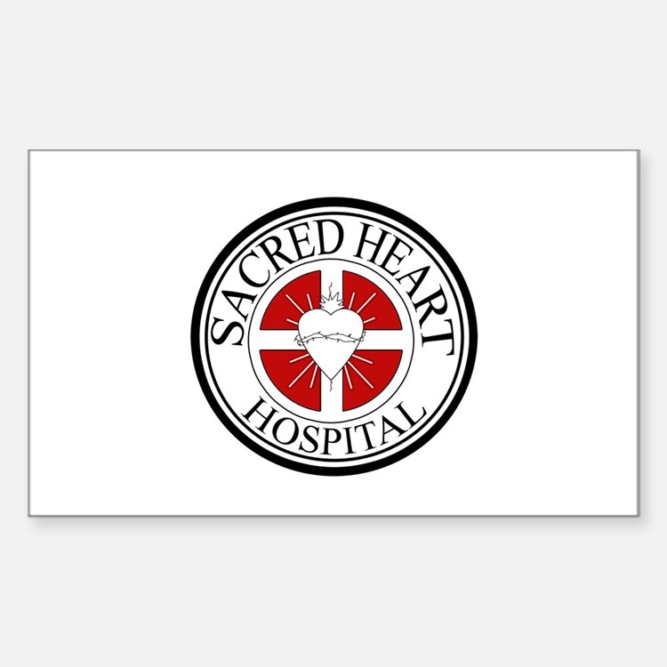 Sacred Heart Hospital Sticker (Rectangle)
