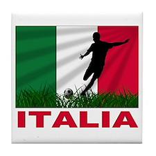 Italian World Cup Soccer Tile Coaster