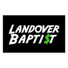 Landover $ Rectangle Decal