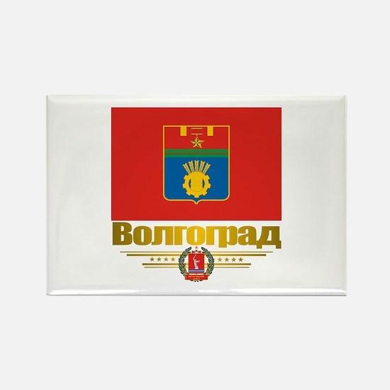 Volgograd Flag Rectangle Magnet