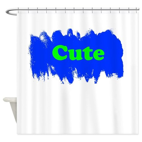 cute shower curtain by familysupershop