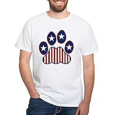 Patriotic Paw Print Shirt