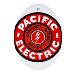 Pacific Electric Ornament (Oval)
