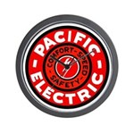 Pacific Electric Wall Clock