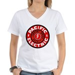 Pacific Electric Women's V-Neck T-Shirt