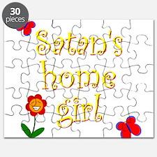 Satans Home Girl Puzzle
