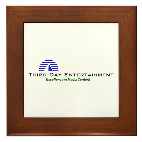 Third Day Entertainment TV Framed Tile