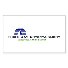 Third Day Entertainment TV Rectangle Decal