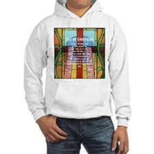 Act of Contrition Prayer Glass Hoodie