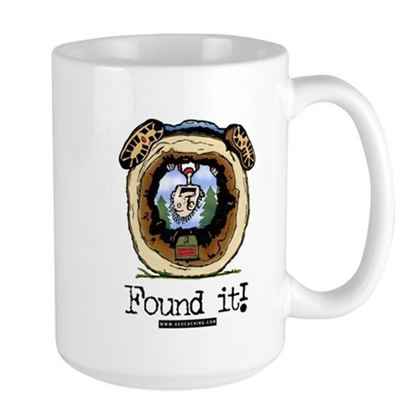 FoundIt1.jpg Large Mug