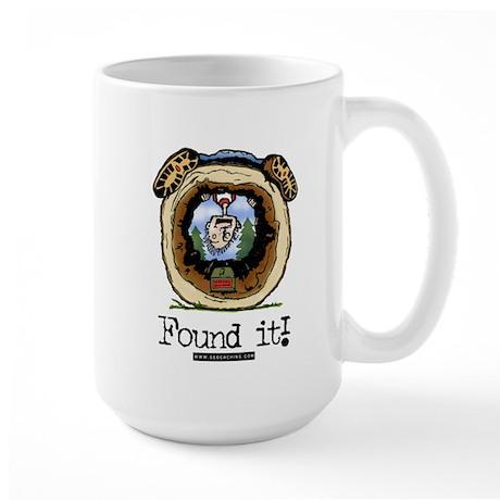 FoundIt1.jpg Large Mug