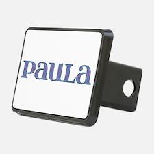 Paula Blue Glass Hitch Cover