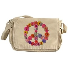 FloralPeace.png Messenger Bag