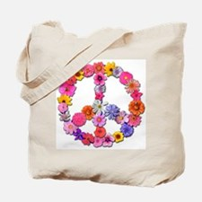 FloralPeace.png Tote Bag