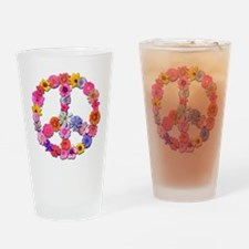 FloralPeace.png Drinking Glass