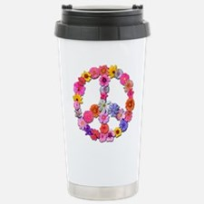 FloralPeace.png Stainless Steel Travel Mug