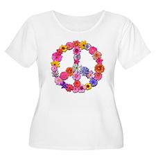 FloralPeace.png T-Shirt