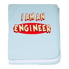 I am an Engineer baby blanket