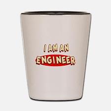 I am an Engineer Shot Glass