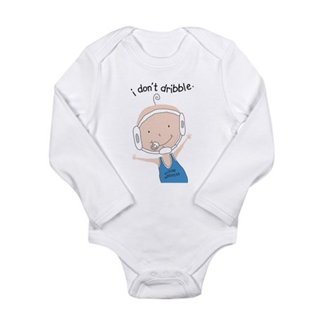 FutureWrestlerBoy.png Long Sleeve Infant Bodysuit