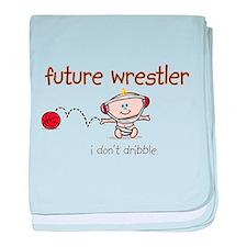 FutureWrestler.png baby blanket