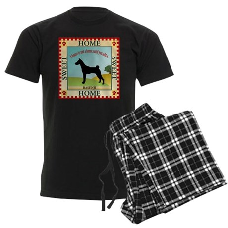 Basenji Men's Dark Pajamas