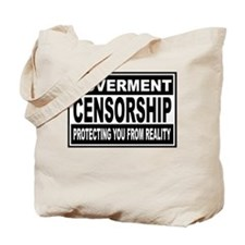 governmentcensorship Tote Bag