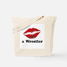 KissAWrestler.png Tote Bag