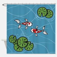 Fuku and Heiwa Shower Curtain