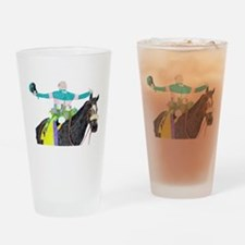 Cute Breeders cup Drinking Glass