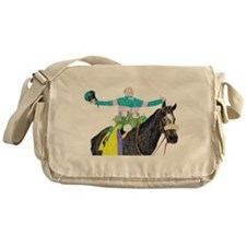 Cute Year of the horse Messenger Bag