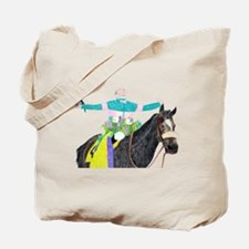 Cute Horse jockey Tote Bag