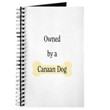 Owned by a Canaan Dog Journal