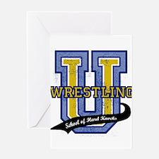 WrestlingU.png Greeting Card