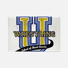WrestlingU.png Rectangle Magnet